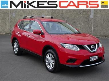 2015 Nissan X-Trail ST 2.5P 7 Seater - 1 Owner