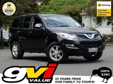 2013 GreatWall X200 Diesel 4WD * 1 Ownr NZ New * N