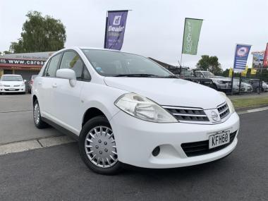 2011 Nissan Tiida LATIO WHITE Saloon
