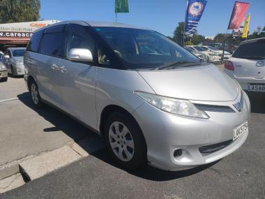 2012 Toyota Estima SILVER Station Wagon