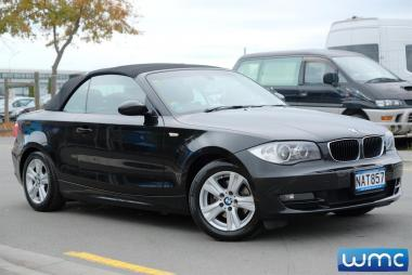 2009 BMW 120i Cabriolet 'Leather Package'