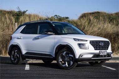 2021 Hyundai Venue 1.6 Elite A6 Black Roof/Mirror