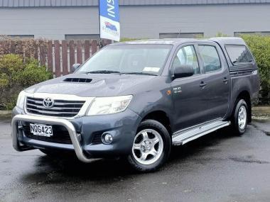 2012 Toyota Hilux 2WD 3.0TD DC Ute 5M TD DC