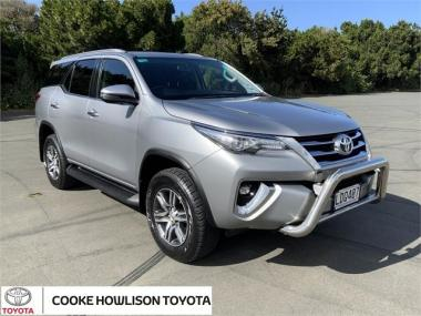 2018 Toyota Fortuner 4WD GXL