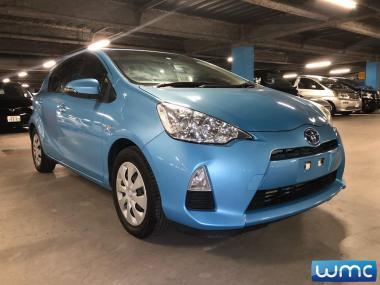 2013 Toyota Aqua 1.5lt Hybrid S Package