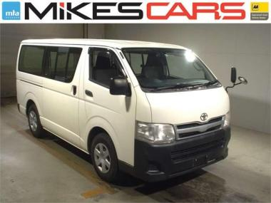 2011 Toyota Hiace 2.0L DX Dual Sliders