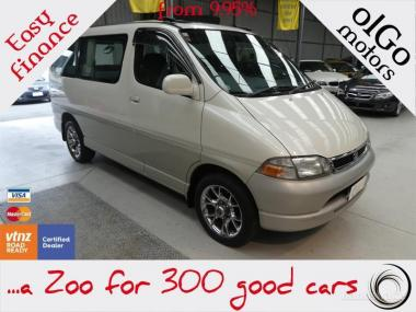 1997 Toyota Granvia Hiace 2.7 *Low KMs* 8seats