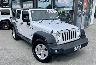 2018 Jeep Wrangler Sport 3.6 4 Door
