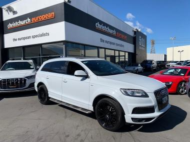 2012 Audi Q7 4.2 V8 TDI S Line Facelift High Spec