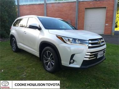 2017 Toyota Highlander GXL 8 Speed Automatic