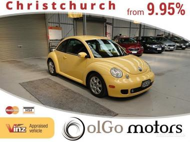 2003 Volkswagen Beetle 1.8 *turbo* Black Leather