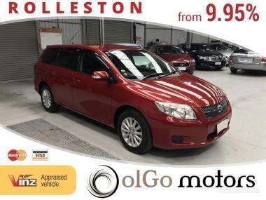 2008 Toyota Corolla Fielder 1.5 *Low KMs*new shape