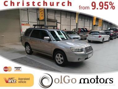 2005 Subaru Forester 2.0 4WD *Manual* Roof Rack