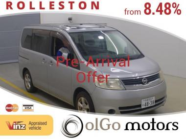2005 Nissan Serena 20S Low KMs 8seats