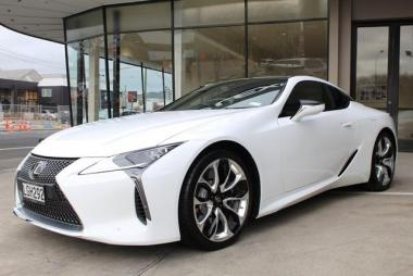 2018 Lexus LC 500 NZ NEW, BLACK LEATHER INTERIOR,