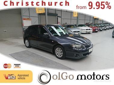 2008 Subaru Impreza 15S *new shape*