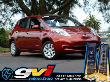 2014 Nissan Leaf 11Bars NZ Maps & Carplay Take adv