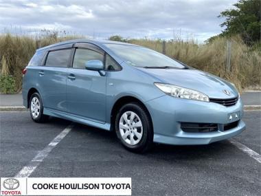 2011 Toyota Wish 1.8 Petrol X 5 dr Wagon CVT 2WD