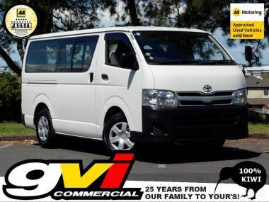 2013 Toyota Hiace 6 Seat * 5 Door / Auto * No Depo