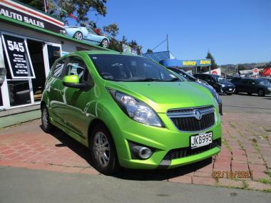 2015 Holden Barina Spark CD 1.2P/4AT/HA/4DR/5