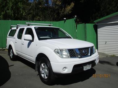 2010 Nissan Navara D/C 2.5D 2WD RX MT