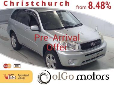 2005 Toyota Rav4 2.0 4WD 5d Low KMs Due Early JAN