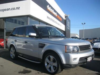 2009 Land Rover Range Rover Sport 5.0 V8 Facelift
