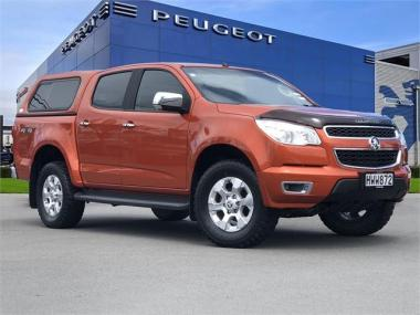 2015 Holden Colorado Ltz Dc Pu 2.8D/4Wd/ manual