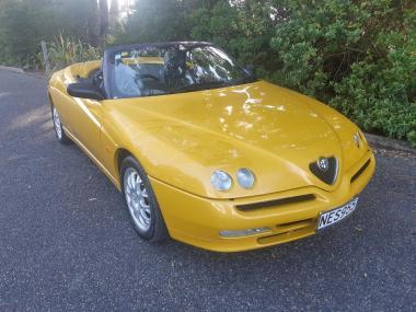 2000 AlfaRomeo Spider 2.0 TS