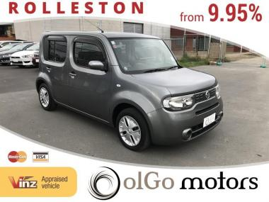 2010 Nissan Cube 15M *LOW KMs* new shape