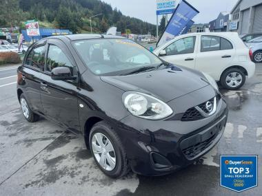 2018 Nissan March 1.2S Only 8500kms No Deposit Fin
