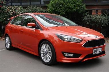 2015 Ford Focus Sport 1.5P Auto