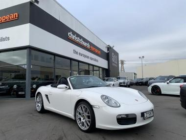 2008 Porsche Boxster 987 Manual Convertible