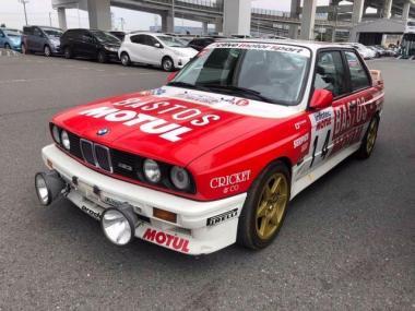 1990 BMW M3 E30 Tarmac rally car