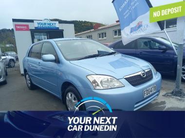 2002 Toyota Corolla Bluetooth No Deposit Finance