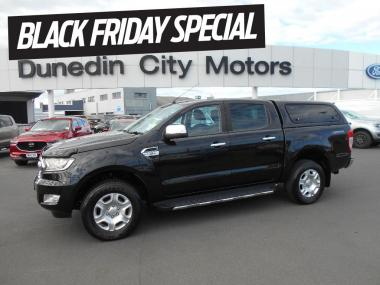 2016 Ford RANGER XLT PX2 2x4 DCab Auto with Canpy