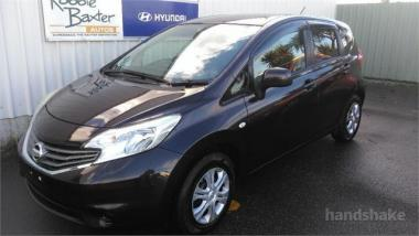 2013 Nissan Note Pure Drive. H/Bk