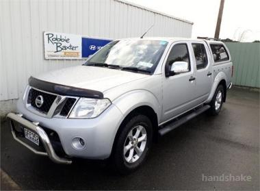 2012 Nissan Navara D/C 2.5D 4WD ST-X MT