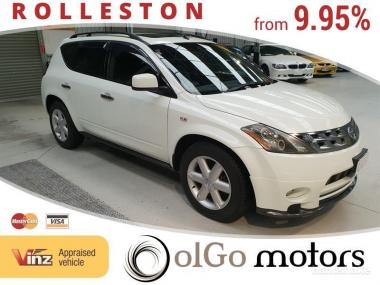 2005 Nissan Murano 350 XV 4WD *Low KMs* Roof Rails
