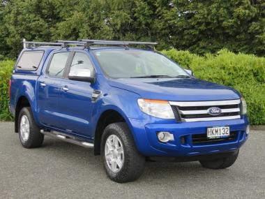 2014 Ford Ranger XLT Hi Rider 2WD Double Cab