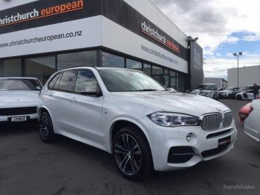 2016 BMW X5 50d Motorsport 7 Seater