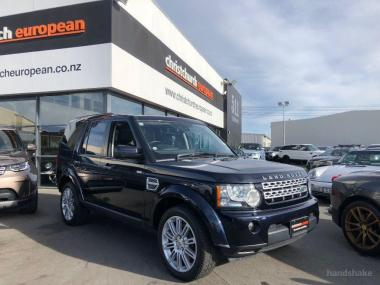 2011 LandRover Discovery 4 5.0 V8 HSE 7 Seater Fac