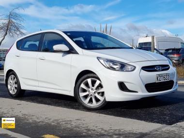 2017 Hyundai Accent 1.6lt NZ New