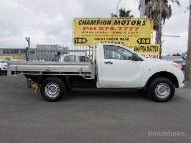 2012 Mazda BT-50 Single Cab