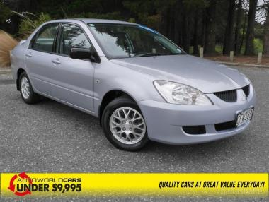 2004 MITSUBISHI LANCER ES 2.0L auto NZ new