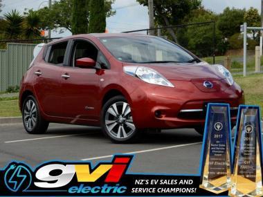 2017 Nissan Leaf 30X 30kWh 180kms Range! Take adva