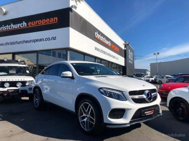 2016 MercedesBenz GLE350d AMG Line Coupe 9-Speed