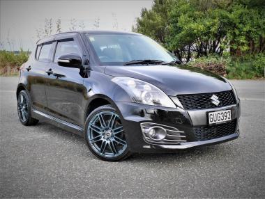 2013 SUZUKI SWIFT Sport 1.6L auto - NZ New
