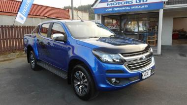 2017 Holden Colorado LTZ DC PU 2.8D/6AT LTZ DC PU