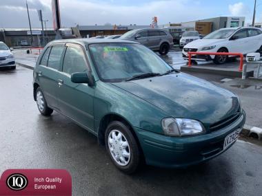 1996 Toyota Starlet 64000kms NZ NEW